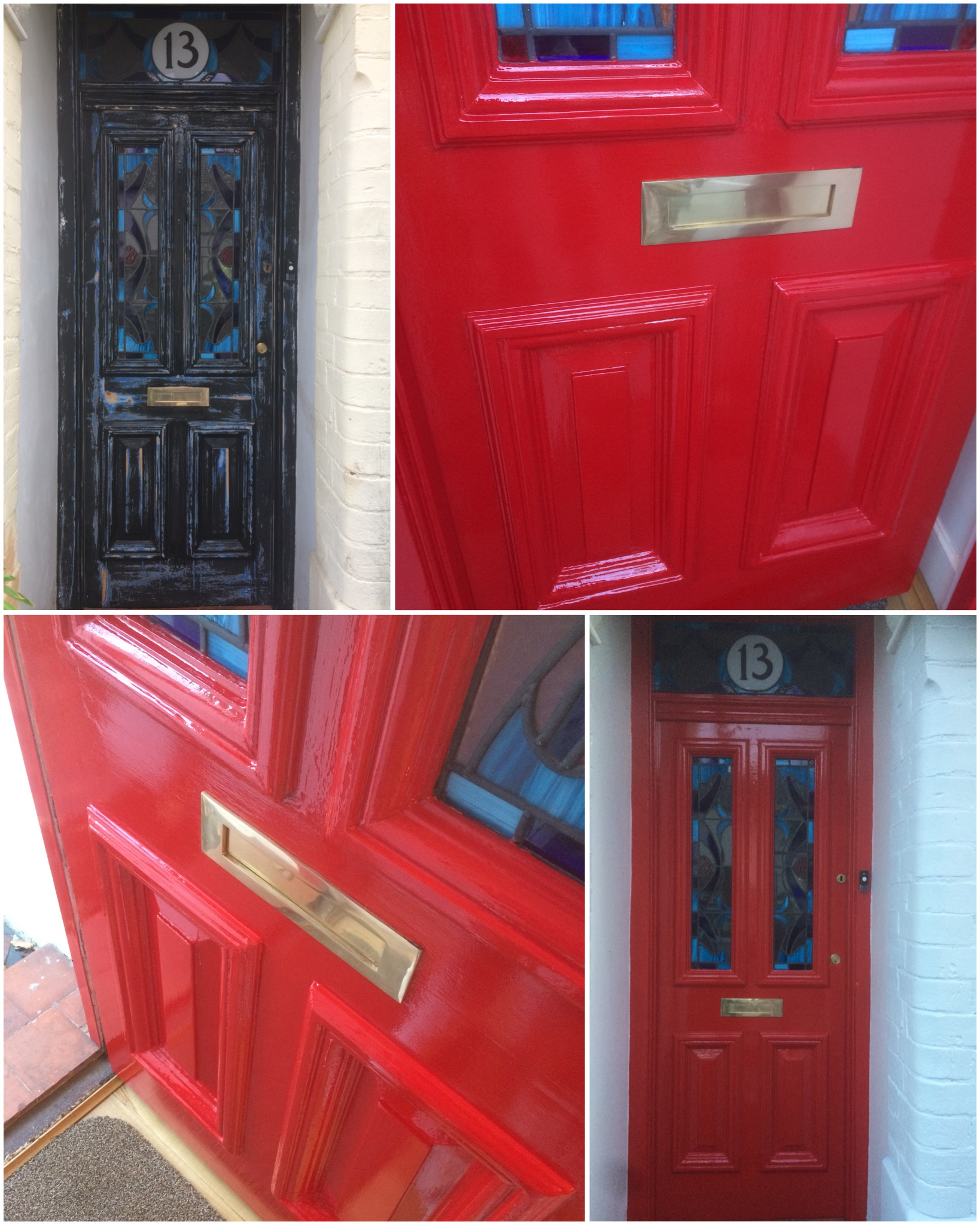 Front door in South Norwood