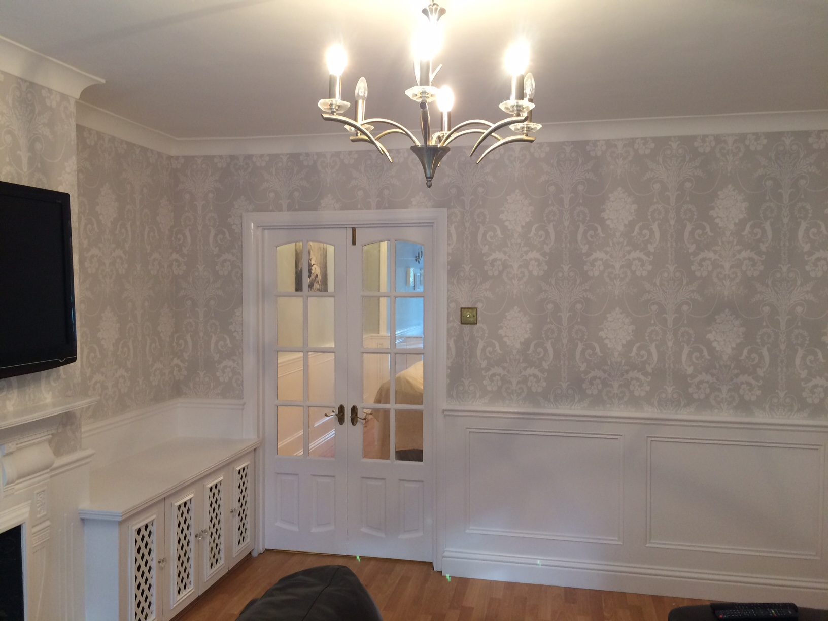 Bickley wallpapering