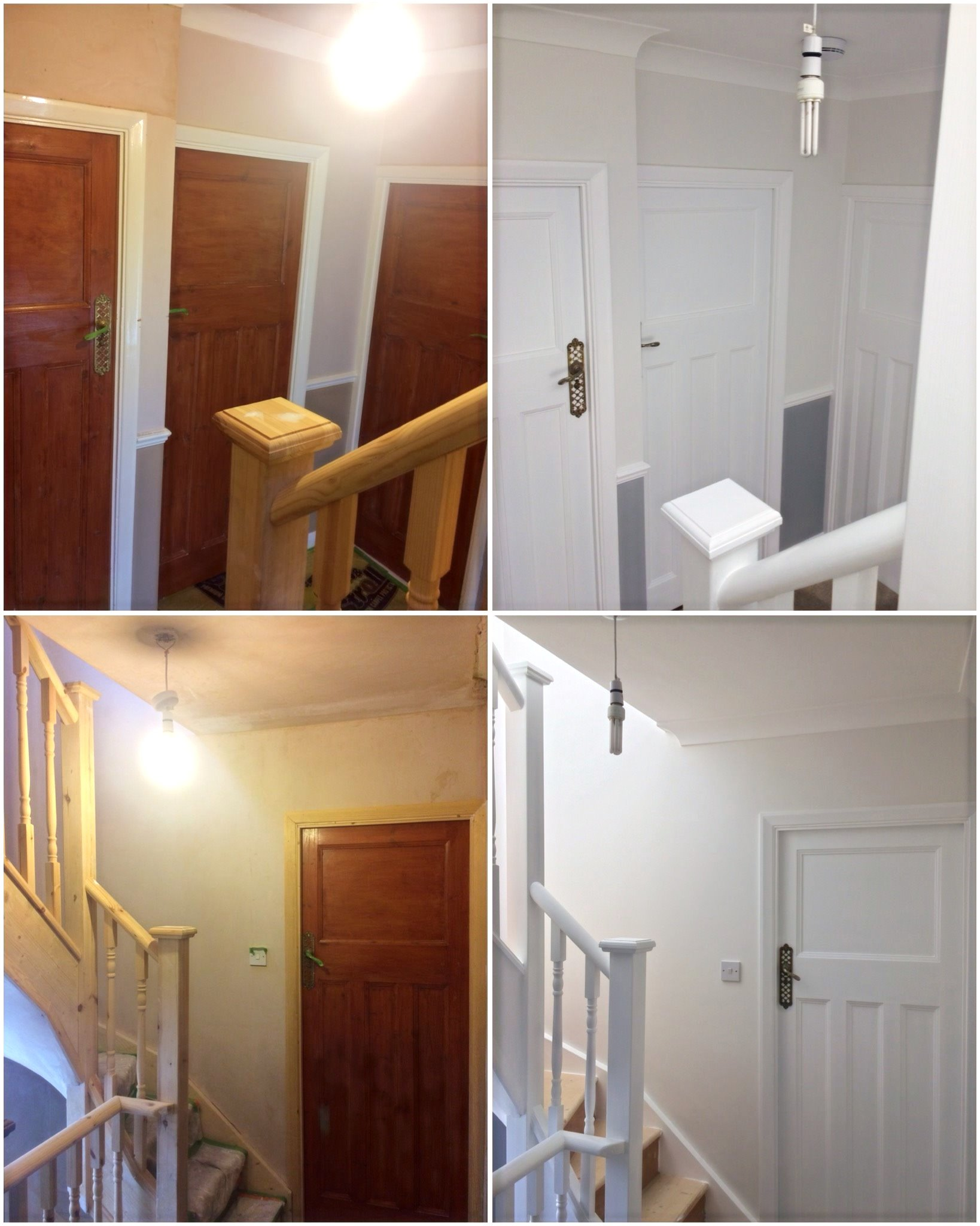 Hall, stairs and landing Beckenham