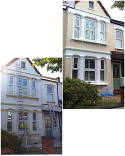 Exterior house painting Beckenham