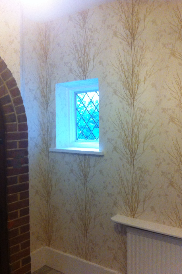 Wallpapering Beckenham