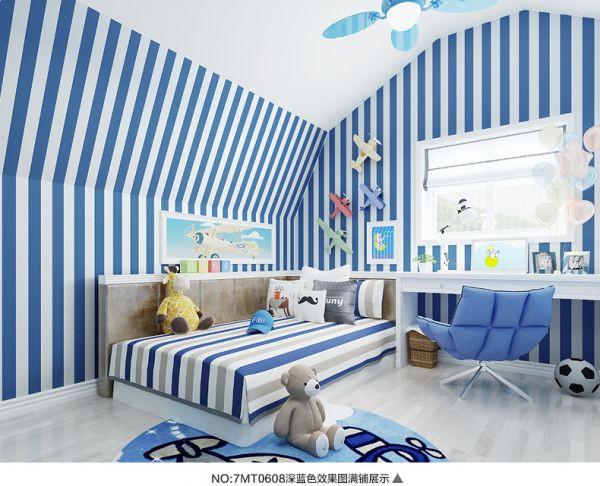 LifeNcolors-best-geometric-wallpaper-stripes-blue-grey