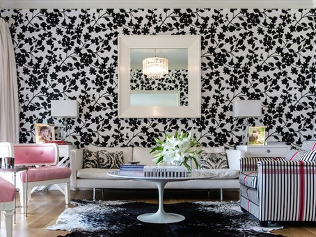 7 black & white wallpaper looks to make you go wow!