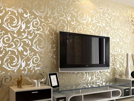 Latest wallpaper Designs for Living Room