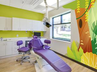 Colorful Dental Treatment Room