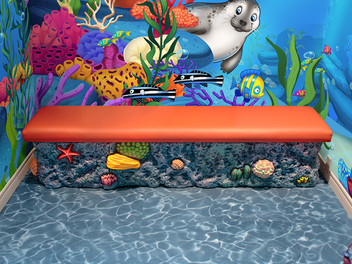 Ocean Coral Bench Seating
