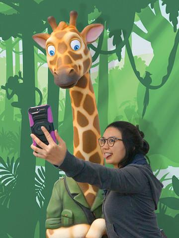 Giraffe Photo Op