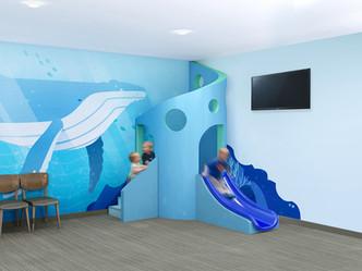 Blue Coral Slide