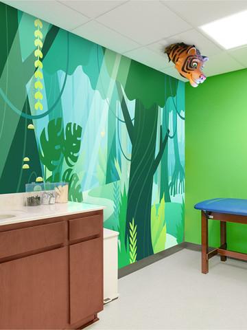 Jungle Treatment Room