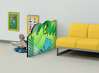 Divider Wall Play Area