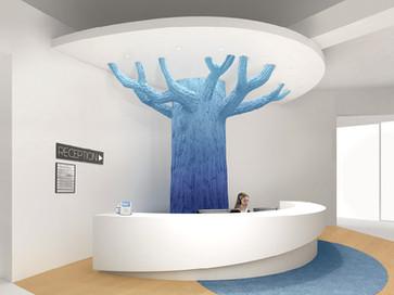 Tree Reception Desk