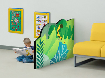Jungle Divider for Kids Play Area