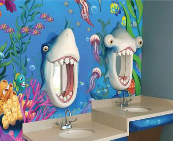 Shark Mirrors for Brushing Teeth