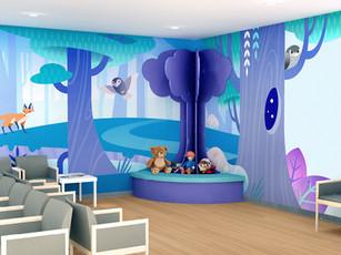 Reception Area Kids Corner