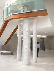 Hospital Foyer Centerpiece Trees