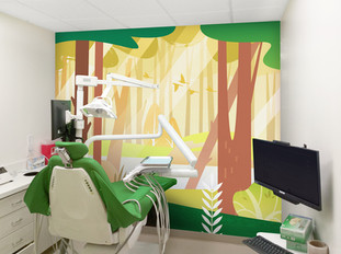 Woodland Themed Treatment Room