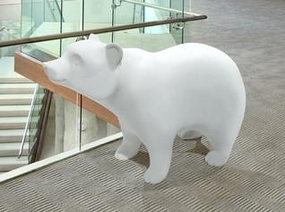 Bear Photo Op Sculpture