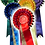Thumbnail: THE GOLD CUP (EDGED) ROSETTE