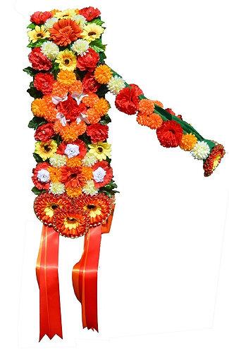 Garland (flower) Saddle Sashes