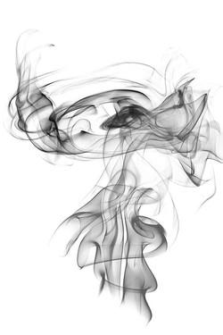 1-gray-smoke-on-a-white-background-abstr