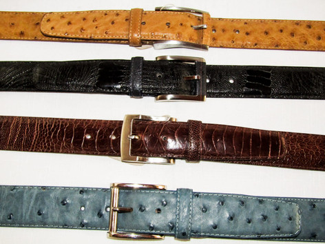 Various Belt Styles