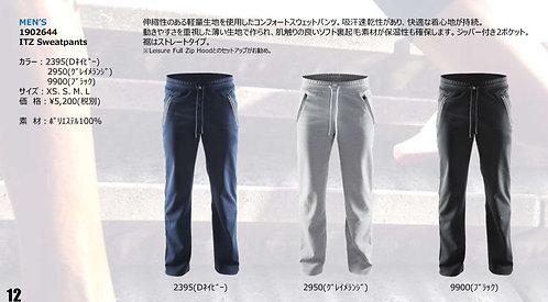 2020SS 1902644 ITZ Sweatpants 2950 グレイメランジ Sサイズ