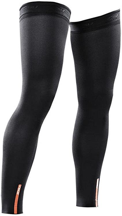 UA1953b Compression Leg Sleeves BLK/BLK Sサイズ
