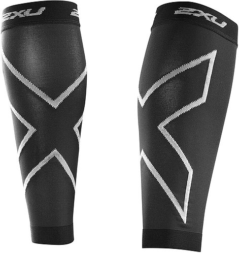 UA2595b Compression Calf Sleeves BLK/BLK Sサイズ
