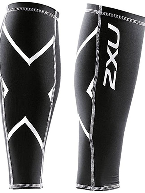 UA1987b Compression Calf Guard BLK/BLK Mサイズ