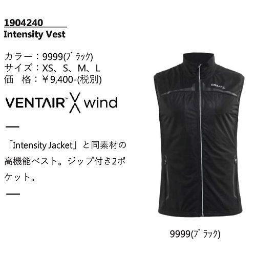 2017AW 1904240 Intensity Vest 9999 ブラック XSサイズ