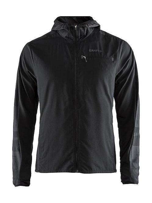 1906447 Urban Run Hood Jacket 999995 ブラック Sサイズ