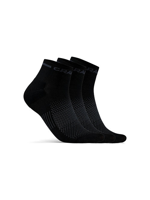 1910637 M Core Dry Mid Sock 3-Pack NEW