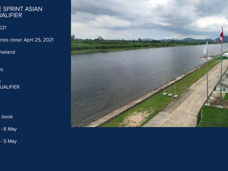 2021 CANOE SPRINT ASIAN OLYMPIC QUALIFIER