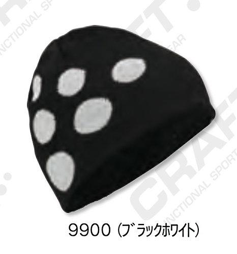 2015AW 1902360 Light 6 Dots Hat NEW 9900 ブラックホワイト S/Mサイズ