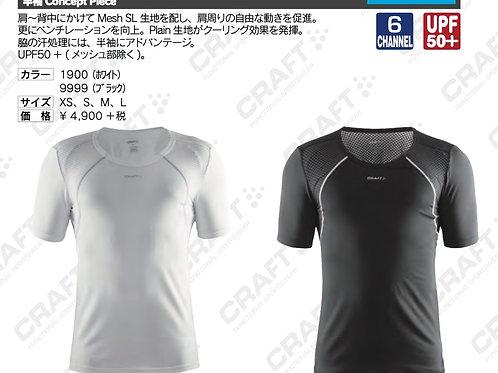 2016SS 1903403 半袖 Concept Piece 9999 ブラック Mサイズ