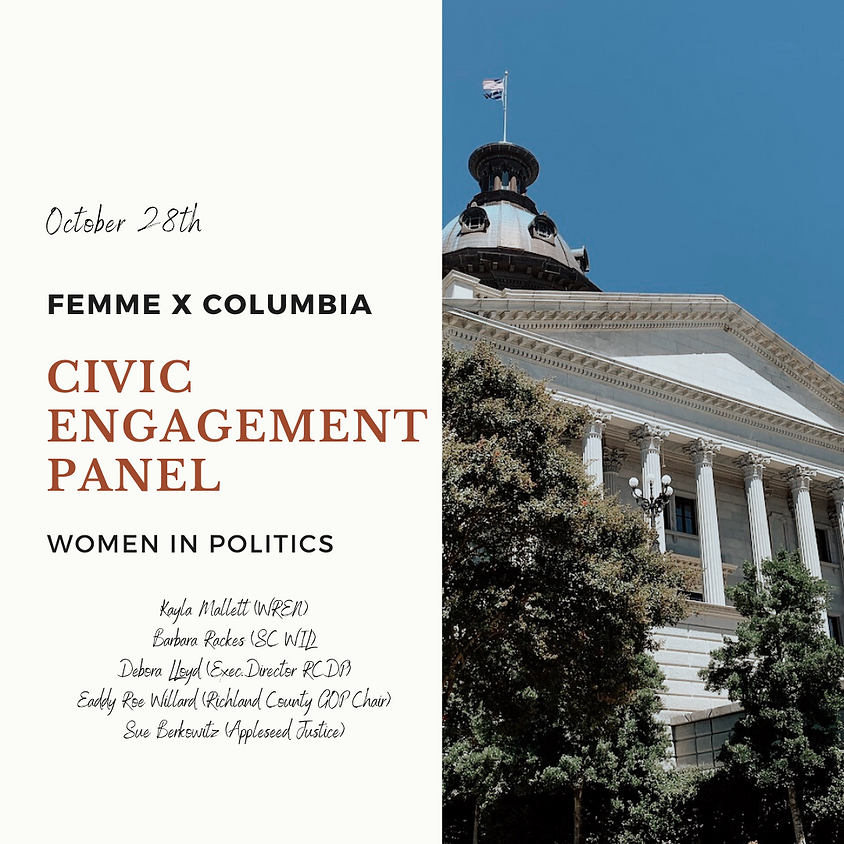 MEMBERS ONLY Civic Engagement Panel - Women in Politics