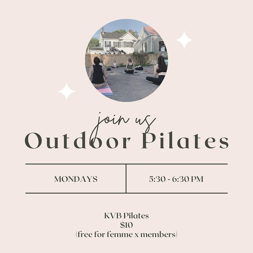Outdoor Mat Pilates at femme x COLUMBIA