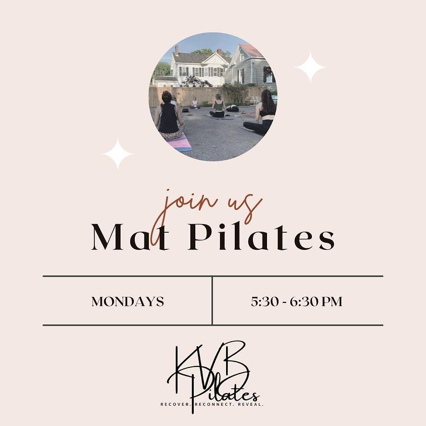 Mat Pilates at femme x COLUMBIA