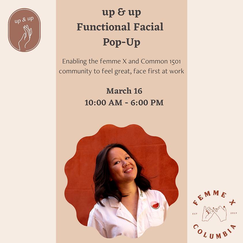 up & up Functional Facial Pop-up