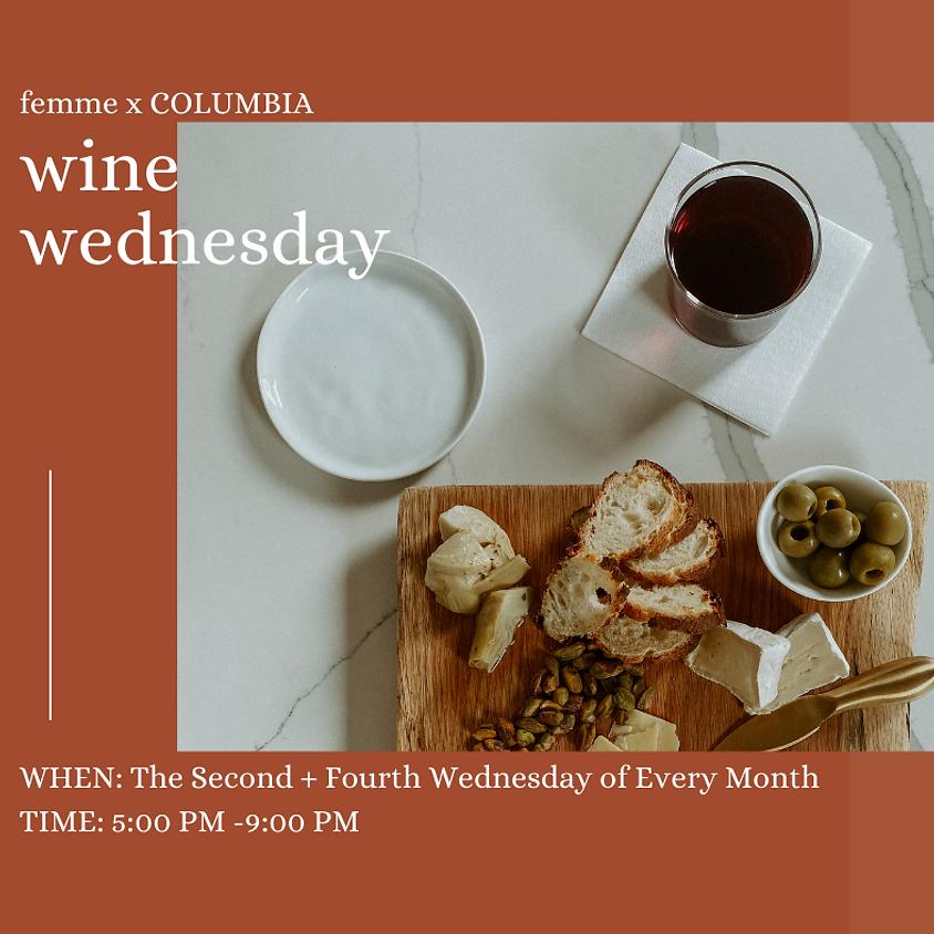 MEMBER EVENT Wine Wednesday