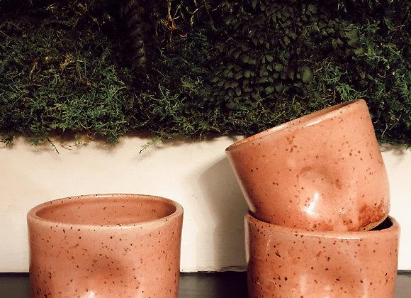 Ceramic Thumbprint Tumbler