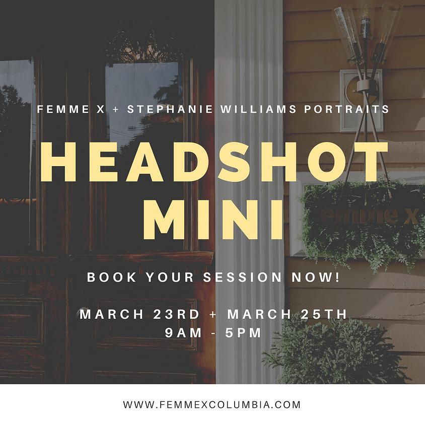 Headshot Mini Session - Day 2