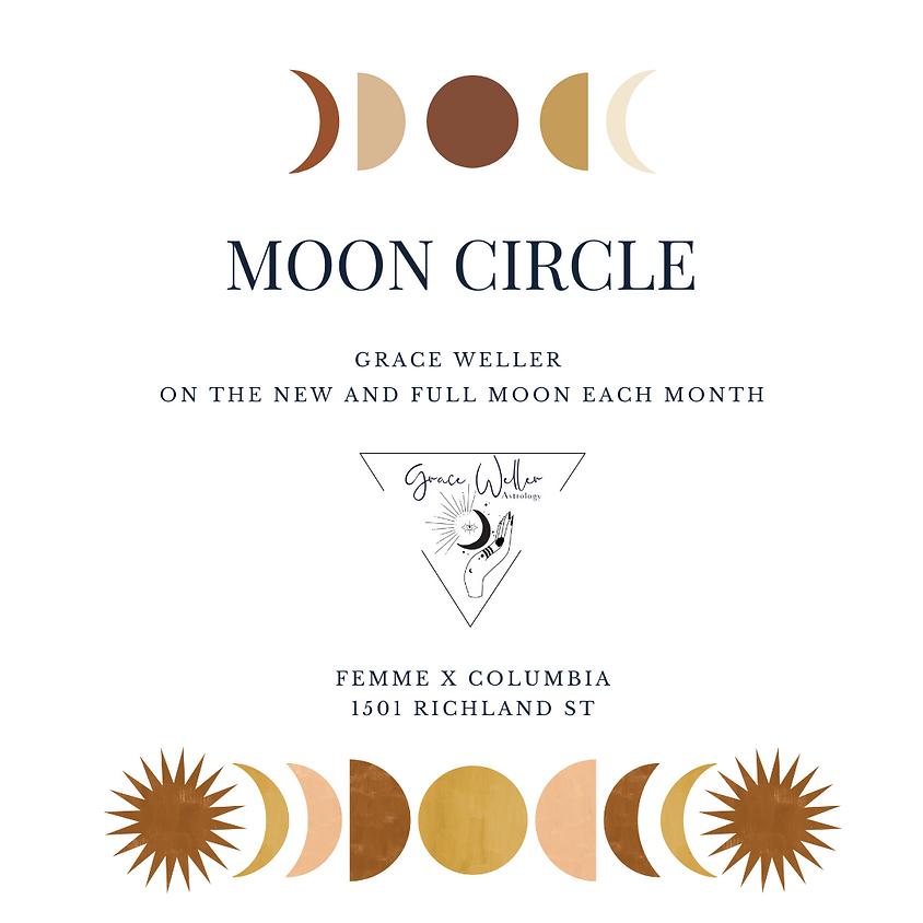 Soul Circle - Full Moon in Aquarius