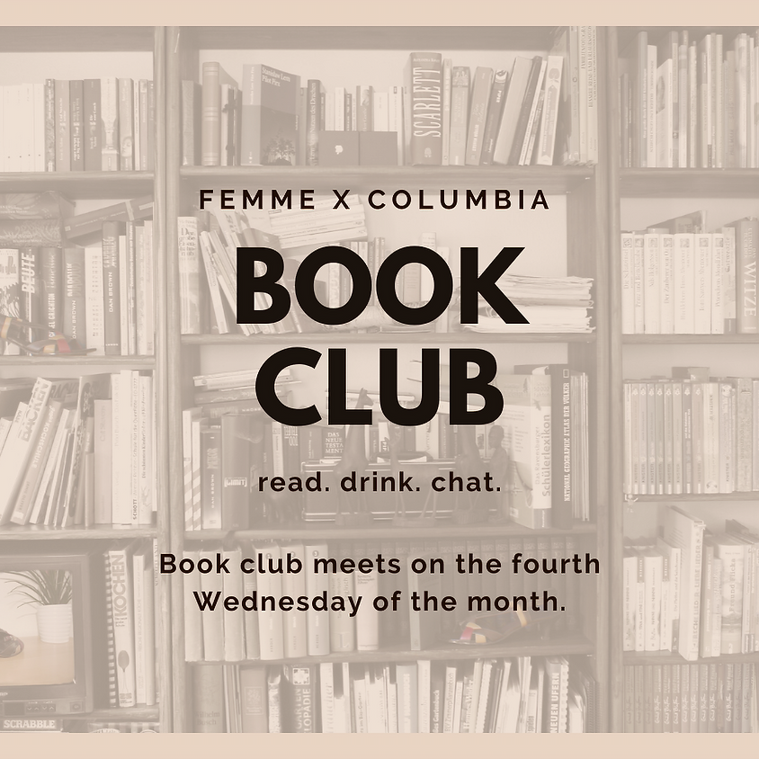 MEMBER EVENT Monthly Book Club