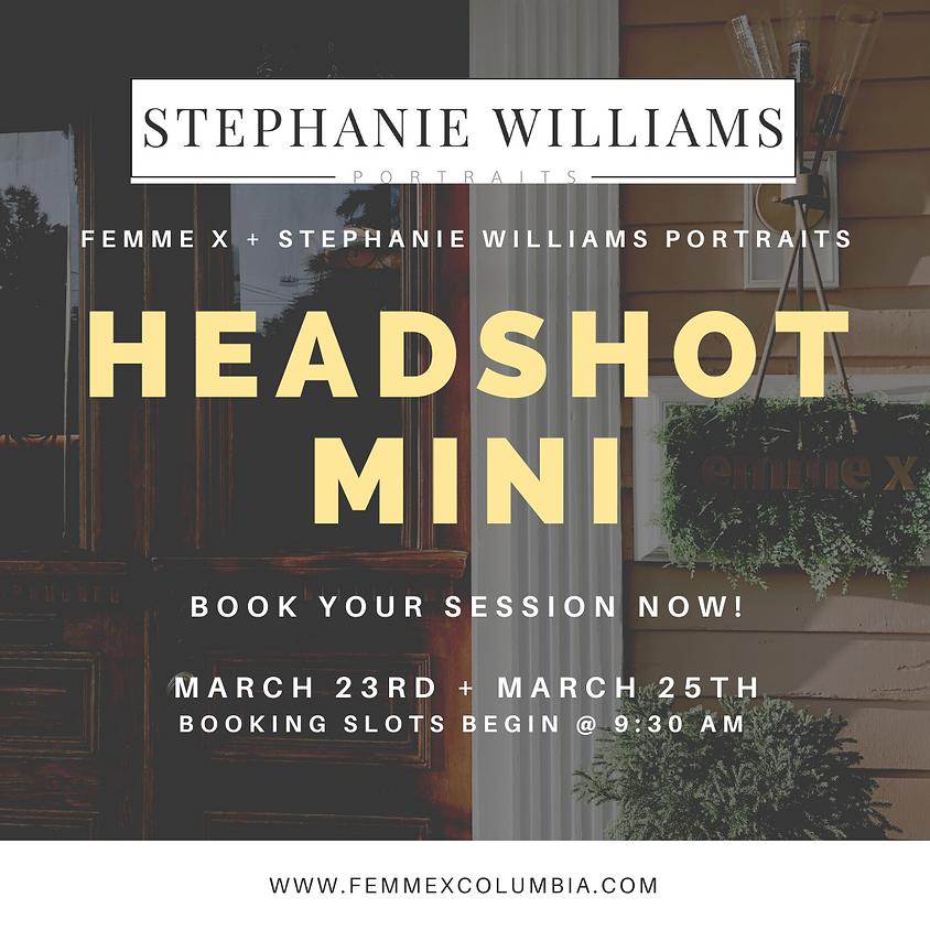 Headshot Mini Sessions