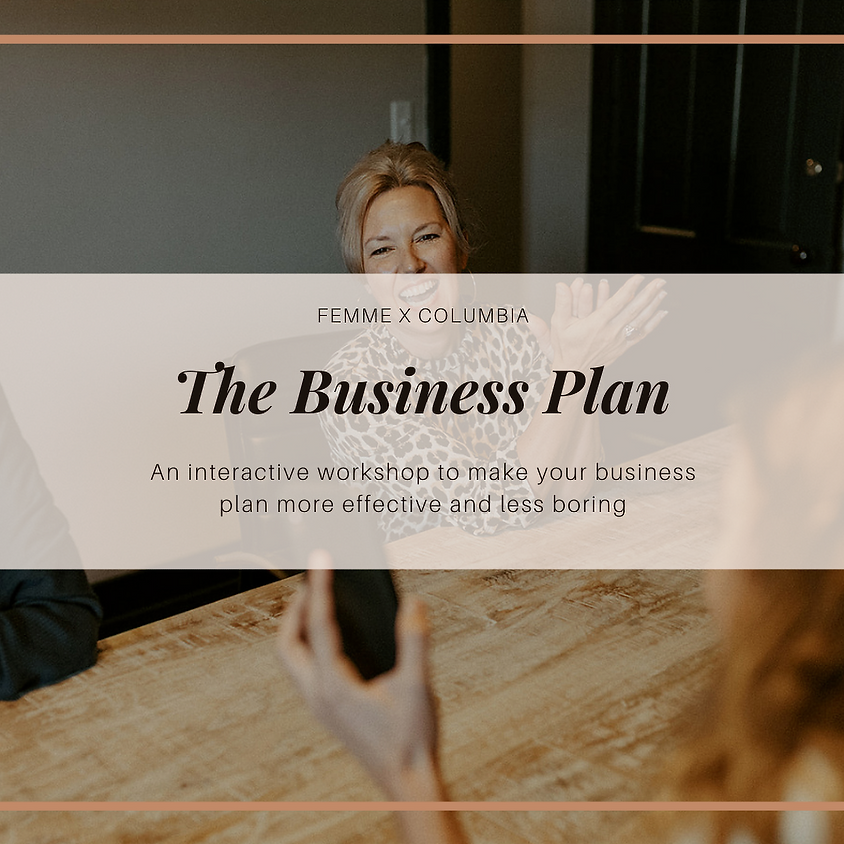The Business Plan - Part II