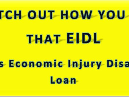 EDIL loan dos and don'ts