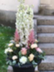 dekoration rosa och vitt Add a flower.jp