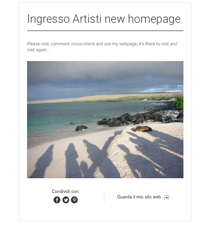 2015 Announcing new webpage