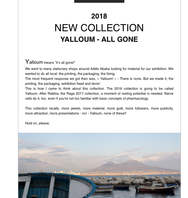 2018 Yelem Collection